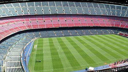Have you ever played Backgammon at the Nou Camp?