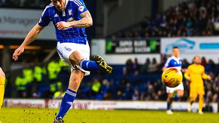 Daryl Murphy has scored in just five matches for club and country this season. Photo: STEVE WALLER