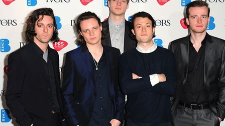 The Maccabees. Picture: Ian West/PA Photos.