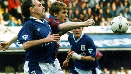 John Wark scored his final Ipswich Town goal, on this day in 1996