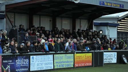 AFC Sudbury spectators are being asked if they witnessed any abuse on Saturday