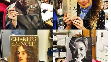 Entries from Suffolk Libraries for #bookfacefriday as part of the Our year of reading campaign