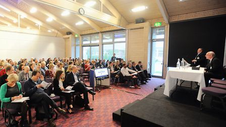 The Suffolk Unlocked tourism conference, at Trinity Park last year.