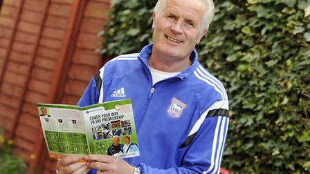 Ipswich Town academy coach Steve Foley is launching an interactive football coaching manual.