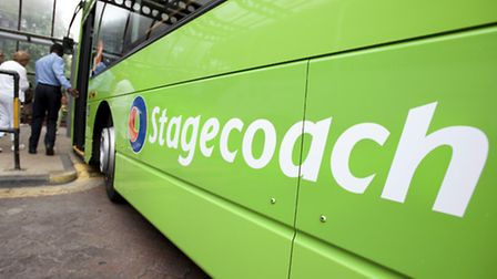 Stagecoach has reported a slowdown in revenue growth at its UK regional business business.