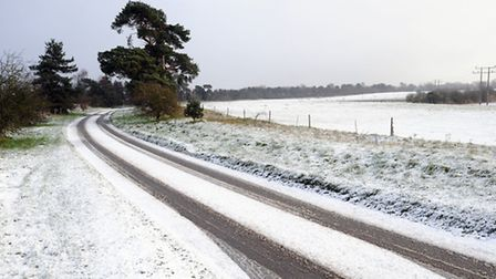 There could be snowfall across the East of England in the coming days.