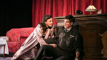 A scene from Flare Path, which is being staged at the Theatre Royal, in Bury St Edmunds, this week.