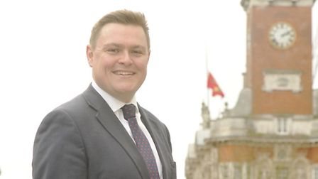 Colchester MP Will Quince