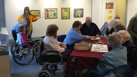 Time with Friends, café events for the elderly and dementia sufferers, are one of the community even