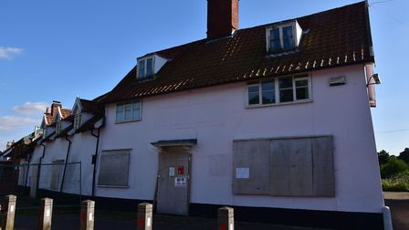 The redundant Kings Head pub in Pulham St Mary has stood empty since 2007. Picture: Sonya Duncan