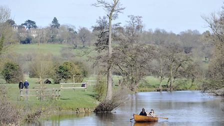 Dedham and the River Stour in Constable Country.