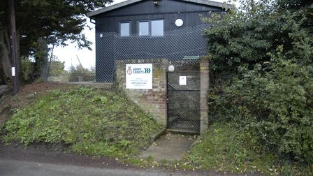 The base of Harleston Army Cadets on Station Hill. Picture: Simon Parkin
