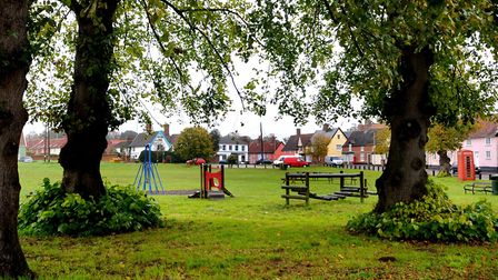 Fair Green in Diss where neighbours have objected to a water treatment company extending its operati