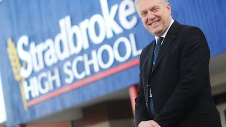 Andrew Bloom, who is retiring from his position as headteacher at Stradbroke High School after six y