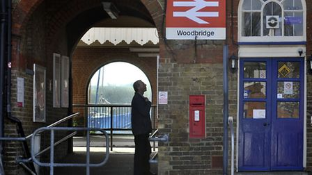 Woodbridge train station, which received top marks in customer information survey.