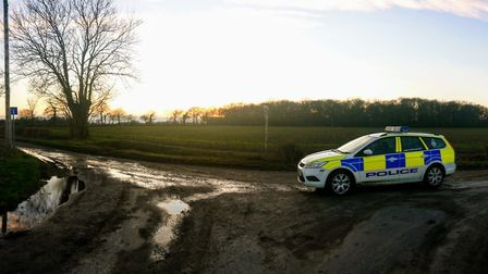 Three were detained over suspected hare coursing on land aroudn Rushall, between Diss and harleston.