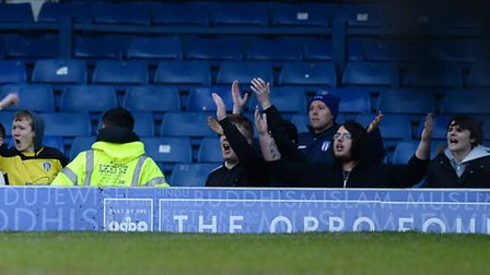 U's fans upset with their team's performance at Bury last Saturday
