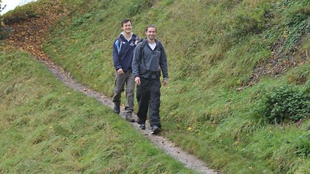 Sam Crimp and Henry Dunham are walking 6,500 miles to Nepal to raise money for charity.