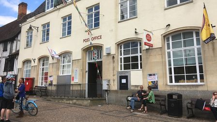 Diss Post Office is one of the last Crown post offices still operating in the country. Picture: Simo