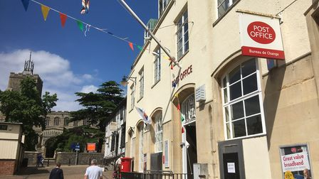 The Post Office had been searching for a new franchisee to run thre Diss branch in Market Place sinc