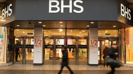 A branch of BHS in London Photo: Dominic Lipinski/PA Wire