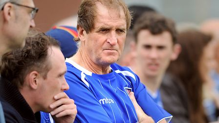 Frans Thijssen, pictured watching Ipswich Town in pre-season action, in Holland, in 2012