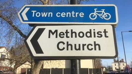 New Diss transport strategy will see the cycle route on Victoria Road extended to the Methodist chur
