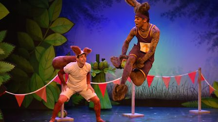Northern Ballet's Tortoise and the Hare. Photo: Brian Slater