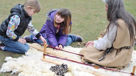 The West Stow Anglo Saxon Village's Big Brecks Craft and Country Fair