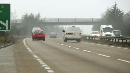 The incident happened on the A120