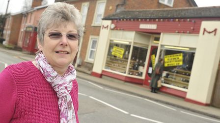 John Self owner Glynis Buckles is retiring and closing down the shop that opened in 1916 in Framling