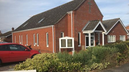 Long Stratton Methodist Church, on Manor Road, which is used by community groups. Picture: Simon Par