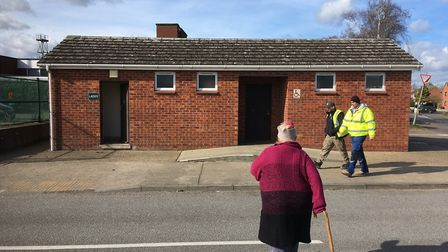 Public toilets in Long Stratton have been closed following an arson attack. Picture: Simon Parkin