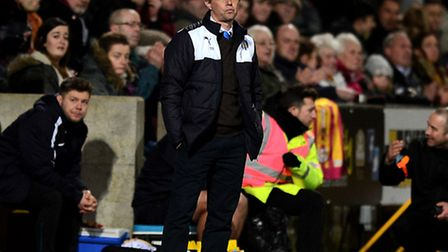 Colchester United boss Kevin Keen
