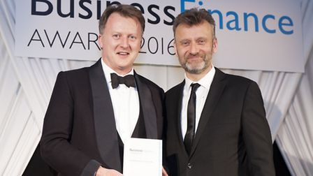 Henry Catchpole of Inform Direct with Hugh Dennis