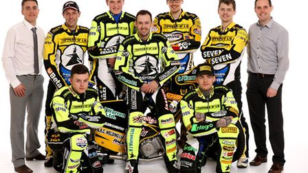The 2016 Ipswich Witches pictured at their Studio Press Shoot at Ipswich Sports Club, Ipswich, Suffo