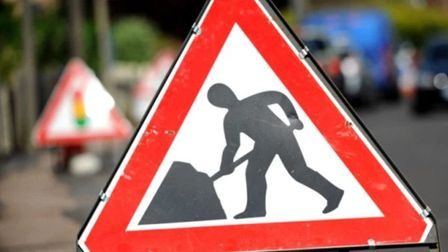 There will be traffic lights on the A1066 Victoria Road at Diss due to roadworks. Picture: Archant L