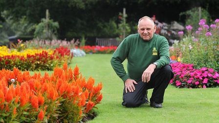 Abbey Gardens head gardener, Steve Burgess has been nominated for an Anglia in Bloom award. Steve is