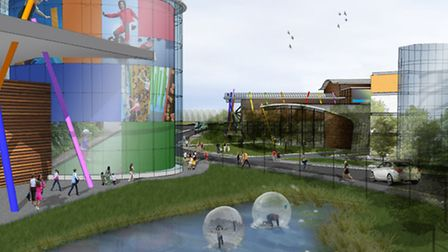 Artists' impression of the new Northern Gateway