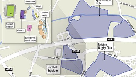 Colchester Northern Gateway vision map
