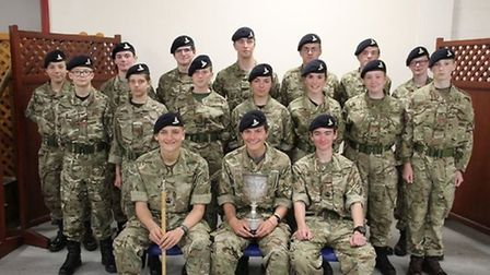 The Harleston troop of the Norfolk Army Cadet Force has provided activities including parade, physic