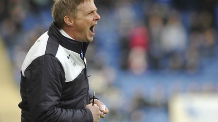 Kevin Keen, who has left his post as manager of Colchester United this afternoon