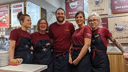 Costa as been in Diss for the past 10 years with some members of staff being there since day one. Pi