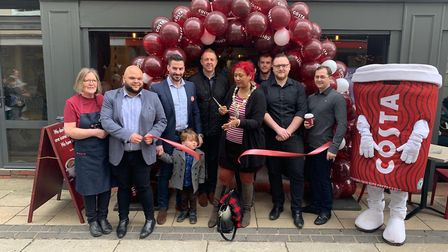 The store was reopened by Diss mayor Sonia Browne. Picture: Scoffs Group