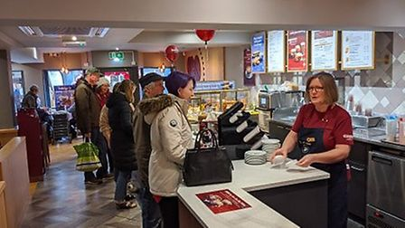 Costa has reopened in Diss following a refurbishment of more than £90,000, Picture: Marc Betts