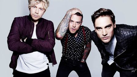 Busted's James Bourne, Matt Willis and Charlie Simpson play Newmarket Nights July 22