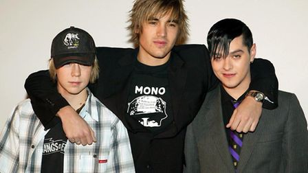 James Bourne, Charlie Simpson and Matt Willis in 2004. They announced they were reuniting last Novem