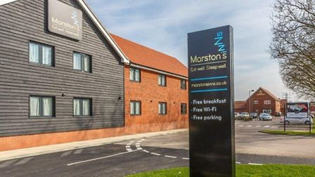 The new lodge-style hotel opened by Marston's in Ipswich.