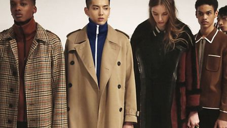 Burberry Menswear January 2016 show, as the luxury fashion group has warned tough trading will hit p