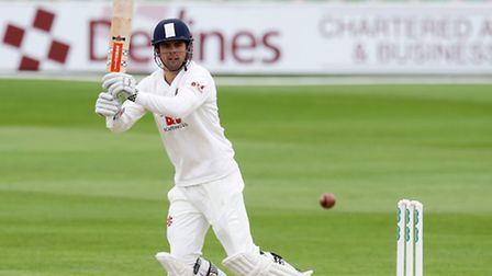 Essex's Alastair Cook in action during day one of the Specsavers County Championship match at the Es